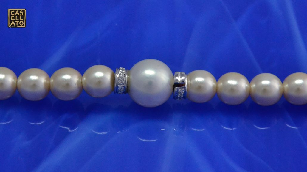 Chiusura pezzo unico perla